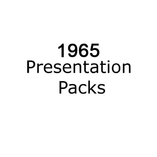1965 presentation packs