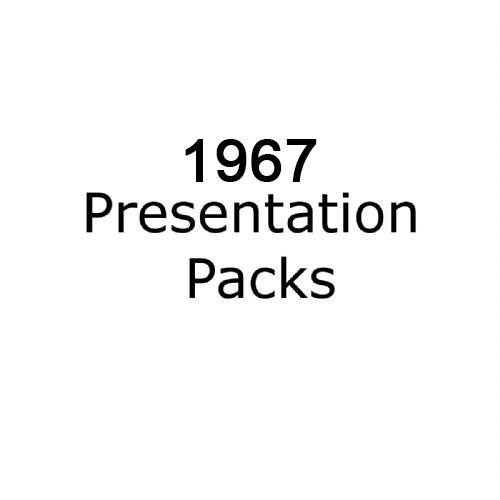 1967 presentation packs