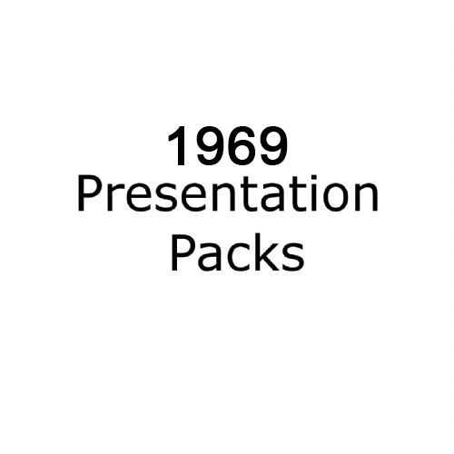 1969 presentation packs