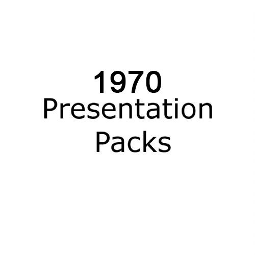 1970 presentation packs
