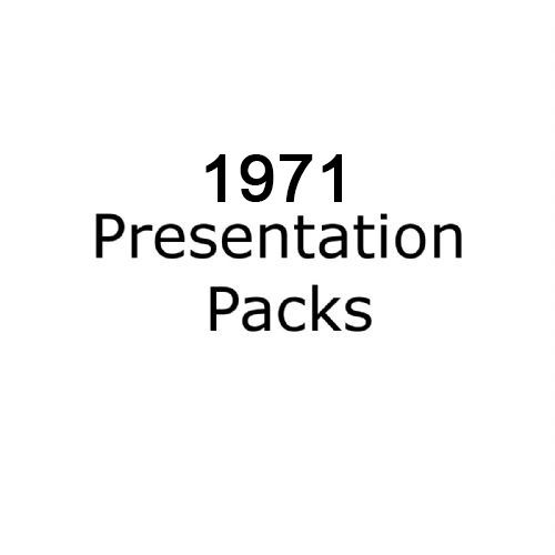 1971 presentation packs