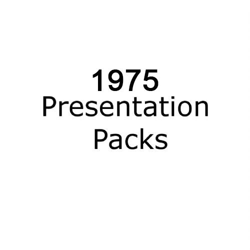 1975 presentation packs
