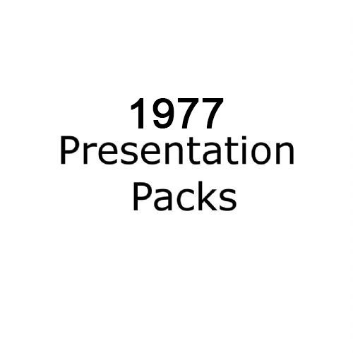 1977 presentation packs