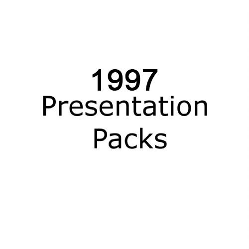 1997 presentation packs