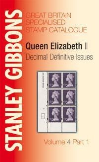 GREAT BRITAIN SPECIALISED VOLUME 4 PT1 STAMP CATALOGUE